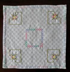 52 (AneloreSMaschke) Tags: bordado tecido xadrez artesanato handmade