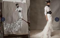 Ralph Lauren n°87 - Taurine fashion (Blouse et Foulard 2) Tags: blouse foulard ralph lauren silk scarf hat skirt