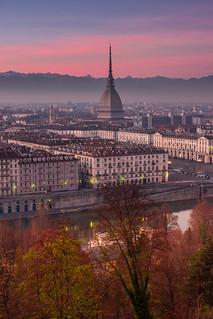 Turin twilight