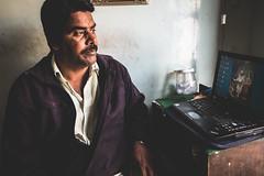 Rajasthan - Jaisalmer - Bhang lassi shop people-4