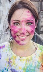 Varanasi - Holi Colour Festival-5