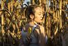 Equinocio (paulavf) Tags: yo persona back portait mujer femenino rural espigas millo galicia