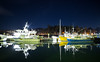 Counting Stars (Keith Midson) Tags: sthelens tasmania boats yachts fishing still calm tranquil night evening stars sky water bay harbour reflection sigma 24mm f14