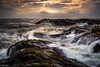 Light Waves (Augmented Reality Images (Getty Contributor)) Tags: longexposure waves llittlestopper landscape leefilters scotland elie water firthofforth colours seascape canon coastline clouds rocks