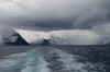Wake of an Arctic ship (ashokboghani) Tags: samfodfjord baffinisland nunavut canada wake arctic weather fjord sea clouds