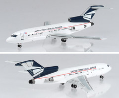 UNK-727-USPS (adrianz toyz) Tags: toy model usps us post postal service office boeing 727 plane airplane aircraft mail diecast adrianztoyz