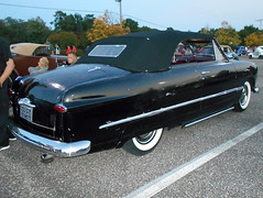 1949 Ford Custom Convertible (splattergraphics) Tags: 1949 ford custom convertible cruisenight lostinthe50s marleystationmall glenburniemd