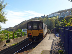 150265 & 150104 St Ives (3) (Marky7890) Tags: gwr 150104 150265 class150 sprinter 2a18 stives stivesbayline railway cornwall train