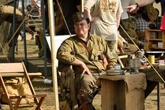 DSC_6249 (Mark Morello) Tags: collingsfoundation hudsonma battlefortheairfield encampment reenactment wwii worldwar2 german american british russian at6 pt17 texan stearman tanks german88 battle hudson massachusetts usa