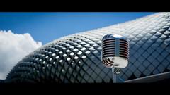 Metal on Metal - Elvis and the Esplanade (Splice Studios Singapore) Tags: esplanade elvis microphone vintage singapore asia splicestudios splice voiceover voice voiceovertalent voiceoversasia sunny reflection talk