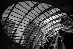 skylight (Jonathan Vowles) Tags: canarywharf london escalator