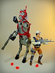 Mattel – Fantastic World of Bravestarr Toys – Reignited Passion – Vintage & Fragile – Thirty/Thirty – Back In Action! – Human Form 1 (My Toy Museum) Tags: mattel bravestarr action figure thirty horse