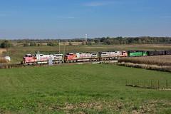 Merger Consist (Trainboy03) Tags: burlington northern santa fe bnsf 683 illinois il briar bluff