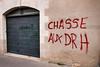 "#Manif10octobre #Nantes #GameOfTags: ""cfdeter ?"" ""CHASSE AUX DRH"" > http://chasseauxdrh.com ! (ValK.) Tags: gameoftags loitravailxxl pjlterrorisme loitravail cabanedupeuple etatdurgencepermanant maisondupeuple nantes politique valk demonstration fonctionpublique graff graffiti greve intersyndicale manifestationunitaire social tag france fr"