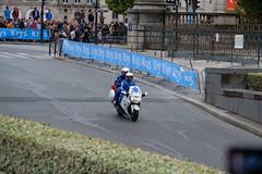 Medical motorbike (barronr) Tags: ems gendarmerie letourdefrance louvre paris rkabworks ambulance cycling emergencysupport france motorbike police race