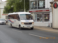 SP55 EEF (amypetrelli) Tags: norse sp55 eef mercedes benz vario plaxton cheetah red lion street norwich