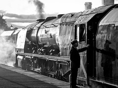 MRC2017-48 (Dreaming of Steam) Tags: 6233 46233 duchess duchessofsutherland heritage heritagerailways lms midlandrailwaycentre princesscoronation princesscoronationclass railway stainer steam steamengine sutherland train vintage engine locomotive railroad smoke steamlocomotive