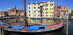 Contarini boat named after one of the founding families of the Venetian Republic (B℮n) Tags: chioggia veneto lagoon island cathedrale fishmarket harbor fishing port pace life italië italia italy ronams clodia seafood panorama panoramico boat ships tour locals canals boats unspoiled bridgde town colors tourism vacation holiday summer architecture historic authentic canal vena bridge historical 50faves topf50 100faves topf100