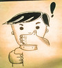 No digas nada (Vicente Morales) Tags: vicentemorales cdmx mexico dibujo lápiz