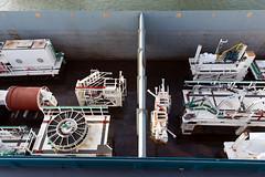 Stukjes boor in het vrachtruim (Rotterdamsebaan) Tags: rotterdamsebaan boortunnel denhaag tunnelboormachine transport rotterdam waalhaven infra infrastructuur techniek bouw vrachtschip