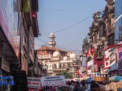 Mumbai 2015 (hunbille) Tags: india mumbai bombay birgittemumbai2lr mangaldas market mangaldasmarket