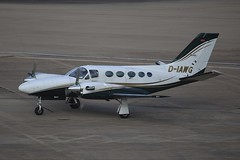 D-IAWG Cessna 425 Conquest BHX 14Oct2017 (Citation Ten) Tags: diawg c425 bhx