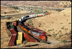 BNSF 711 (golden_state_rails) Tags: bnsf atsf santa fe warbonnet sp up tehachapi pass caliente ca california tunnel 1