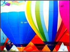 Coupe Icare 2017 (lhoteln) Tags: coupe icare 2017 montgolfières ciel sky clouds nuages sunrise aube lever du soleil colors couleurs mountains montagnes hotair balloon