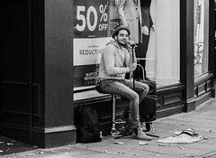 Photo of King's Lynn busker
