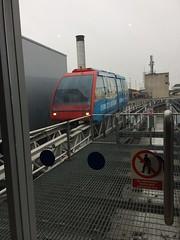 Sky train Birmingham~Explored (Wendy:) Tags: explored driverless skytrain airport birmingham soggy day wet transport train