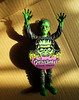 Monster Jiggler Wearing a Ghoulsville Goon Squad Member Pin 2573 (Brechtbug) Tags: green rubber frankenstein s monster jiggler wearing ghoulsville geen squad member pin ben cooper toy toys horror fright terror creature scary spooky figure action monsters halloween 2017 nyc october new york city paint head universal played by boris karloff undead reanimated corpse film movie portrait holiday decoration mask like red black retro go