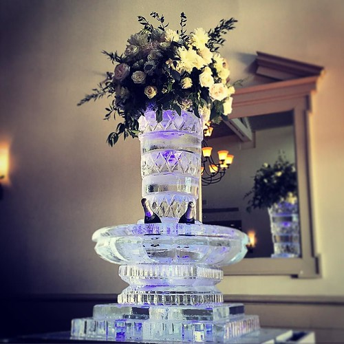 Ready for the bubbles to pop for a beautiful #wedding @omnibartoncreek with @valeriemillerevents #fullspectrumice #austin #custom #wedding #champagne #icesculpture #thinkoutsidetheblocks #brrriliant - Full Spectrum Ice Sculpture