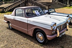 1960 Triumph Herald Coupe (John Tif) Tags: 2017 crystalpalace car motorspot