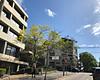 2017 Sydney: Newtown #1 (dominotic) Tags: 2017 traffic street sign greentrafficlight cars bluesky innersydney newtown jacarandatree purple rpahmedicalcentre iphone8 sydney australia