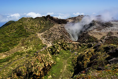 520637887 (langley_foto) Tags: action basseterre blue caribbean france green guadeloupe mountainpeak resting smoke tourist volcano