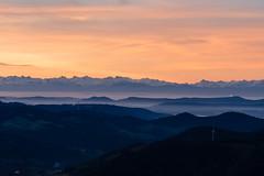 Belchen Sonnenaufgang #4 (Michael-Herrmann) Tags: nikon d500 iso belchen black forest blackforest schwarzwald sonnenaufgang sunrise morning autumn herbst warm colors tones