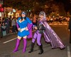 Prodigious Girl and Lavender Scare at the race (rgaines) Tags: costume cosplay crossplay drag prodigiousgirl lavenderscare highheelrace halloween