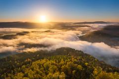 golden sunrise (Alexander Lauterbach Photography) Tags: lilienstein saxonswitzerland sächsischeschweiz sunrise sonnenaufgang nebel nebelmeer sunshine golden sachsen deutschland germany sony landscape a7r