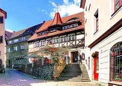 "Restaurant Vincenz Richter (""DavidJHiom"") Tags: meissen saxony germany vincentrichter restaurant colour colourful travel summer"