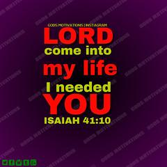 ISAIAH 4110 (God's Motivations) Tags: godsmotivations motivations inspiration pray pure heart lord problem trust jesus need