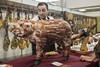 This Little Piggy (seewhy59) Tags: aracena iberico jamon ham feria fair festival pig pork meat food
