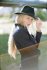 Leica + Vision3 50D (MrLeica.com (MatthewOsbornePhotography)) Tags: vision3 50d leica m4p film analog budapest model girl flare portrait motionpicturefilm kodakfilm