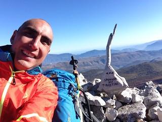01/11/17 - Sperone Tiburtini (2128 m), Parco Naturale Regionale Sirente-Velino, (AQ) Abruzzo