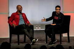 Common with Lin-Manuel Miranda, creator of Hamilton: An American Musical (Joshua Mellin) Tags: obama presidentobama barack barackobama presidentbarackobama obamafoundation obamasummit chicago 2017 summit michelleobama joshuamellin photographer writer reporter photo pic october november fall autumn foundation library obamalibrary presidentiallibrary obamapresidentiallibrary event talks video pictures cameras common rap hiphop linmanuelmiranda linmanuel miranda creator hamiltonanamericanmusical hamilton hamiltonmusical hip hop legend conversation freestyle obamaorg website stream joshua mellin journalist photos pics best photography bestphotographer joshuamellincom blogger travel