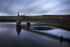 Eerie Pontsticill Reservoir (Andrew Hocking Photography) Tags: eerie spooky ponsticill lake reservoir southwales breconbeacons reflection pumphouse lights landscape pontsticill