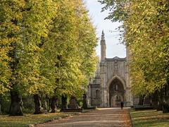 LR London October 2017-300324 (hunbille) Tags: birgittelondonoktober20171lr london england nunhead cemetery magnificentseven magnificent seven victorian autumn fall allsaintscemetery all saints framed chapel path