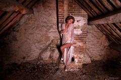 Carine... (henrychristo27 (Christophe)) Tags: carine portraiture sensual lingerie women feminine grenier clairobscur