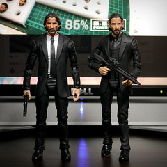 My John Wick customs (kevchan1103) Tags: john wick chapter 2 keanu reeves custom head sculpt headsculpt marvel legends toys action figure