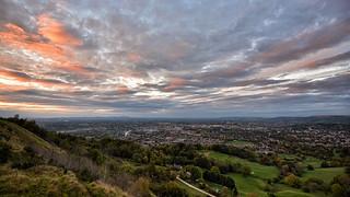 Cheltenham at sunset