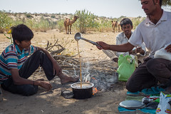 Rajasthan - Jaisalmer - Desert Safari with Camels-30